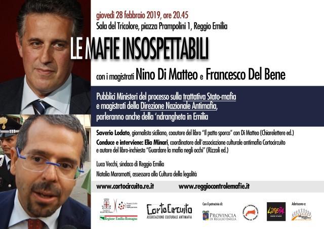 Incontro con i magistrati Di Matteo e Del Bene, oltre al giornalista Lodato