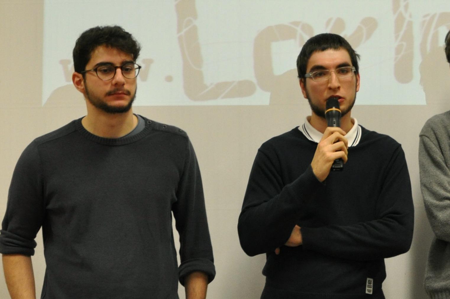 2 Andrea Mafrica e Andrea Franzoni