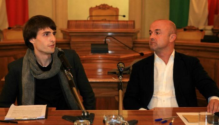 Gianluigi Nuzzi ed Elia Minari