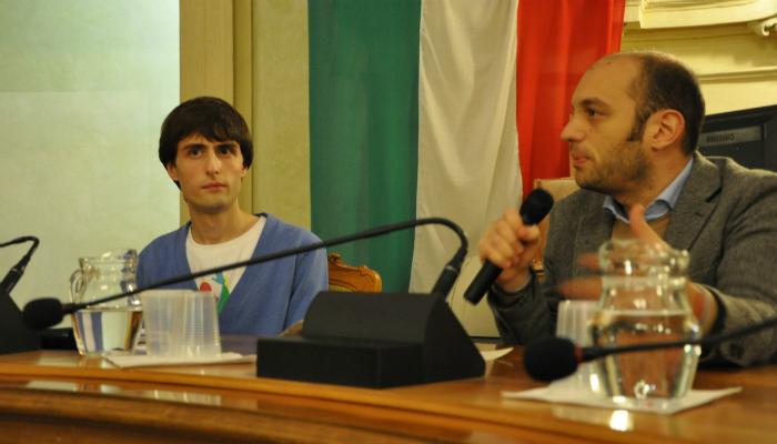 Giovanni Tizian Sala del Tricolore