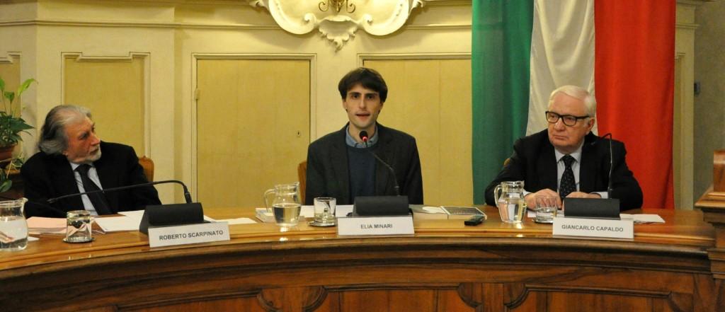 Roberto-Scarpinato-Elia-Minari-Giancarlo-Capaldo-nella-Sala-del-Tricolore